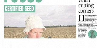 Certified Seed Focus in this weeks IFJ