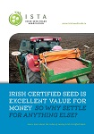 ISTA Brochure on Irish Certified Seed - Front of brochure